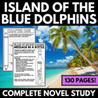 Island of the Blue Dolphins: Complete 71 Page Unit - Quest