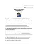 Island of the Blue Dolphins Quiz Chapters 6-10