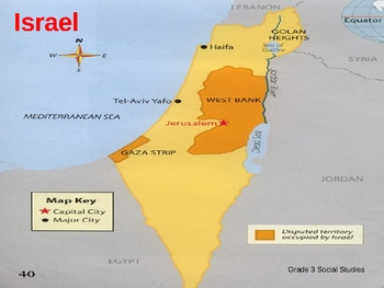 Israel PowerPoint lesson