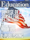 Issue 3: LinkedIn Tips, Self E-Publishing, College, EdTech
