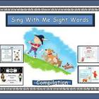 Ist Grade Sight Words - Songs + Worksheets -Digital