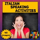 Italian Speaking Activities, Test, Oral Exam for Midyear,