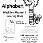 Itchy&#039;s Alphabet Coloring Book