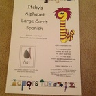 Itchy&#039;s Alphabet Spanish Large Cards