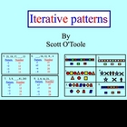 Iterative Patterns Math Smartboard Lesson