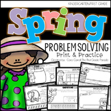 It's A Spring Thing! - Interactive Math Printables