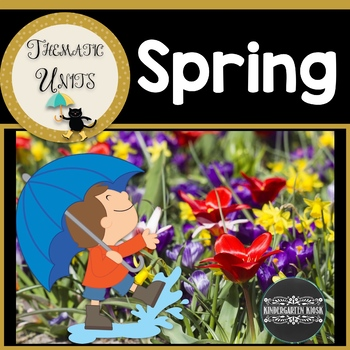 It's A Spring Thing Unit: Thematic Common Core Curricular