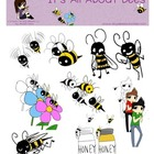 It's All About Bees Digital Graphics, Clip Art