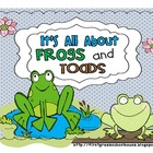 It's All About Frogs and Toads