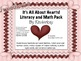 Its All About Hearts Literacy and Math Fun Pack