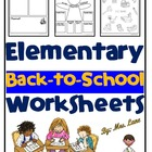 It&#039;s All About Me Tee (Worksheet/Poster)