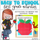 It's Back to School First Graders!