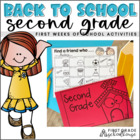 It's Back to School Second Graders!