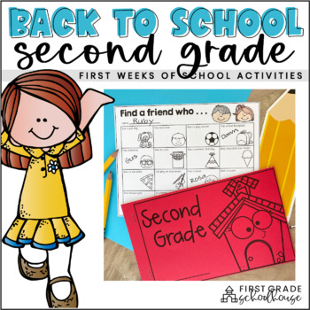 Back to School Second Graders!
