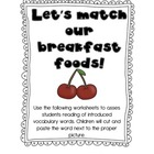 It&#039;s Breakfast Time Math and Literacy Unit Freebie!