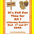 It's Fall Fun Time for All: Literacy Centers Grades 1-2