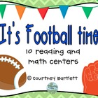 It's Football Time! (10 reading and math centers)