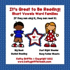 It's Great to Be Reading Books (Short Vowels)
