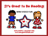It's Great to Be Reading Mini Video Fun