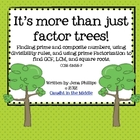 It&#039;s More Than Just Factor Trees!