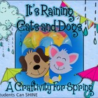 It's Raining Cats And Dogs - A Craftivity