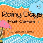It&#039;s Raining Math! {Centers}