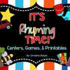 It's Rhyming Time! {Centers, Games, & Printables}