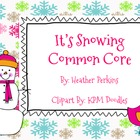 It&#039;s Snowing Common Core {Math and Literacy Centers}