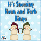 It's Snowing Noun and Verb Bingo! Common Core Aligned!