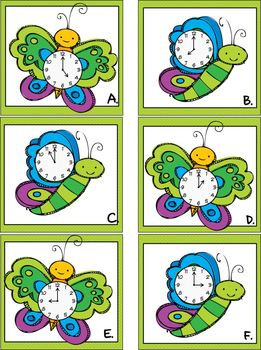 It's Spring Time-A Differentiated Telling Time Write the R