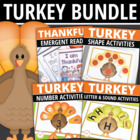 It's Turkey Time!  Activities for Preschool and Early Chil