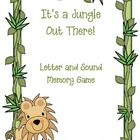 It&#039;s a Jungle Out There--Letter/Sound Memory Game