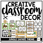 Jungle Classroom Theme Pack