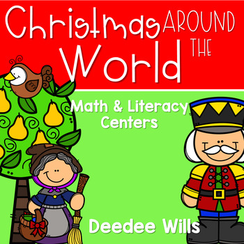 Christmas Around the World (It's a  Small World) Stations-Common Core