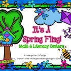 It&#039;s a Spring Fling (Literacy and Math Centers)