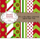 It's a Very Merry Christmas Digital Paper Pack