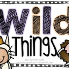It's a Wild Thing {Mini-Unit}