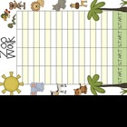 It&#039;s a Zoo Day! (math and literacy games)