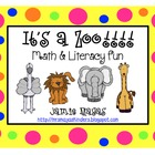 It&#039;s a Zoo Math &amp; Literacy Fun!