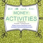 It's all about the MONEY, honey! {part 2: written activities}
