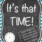 It's that Time! Teaching Time to 5 Minutes ~ Common Core Aligned