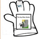 Itsy Bitsy Spider Glove Story-Autism