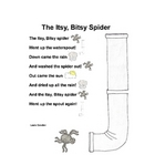 Itsy Bitsy Spider Interactive Circle Time Poem & Story Pie