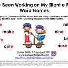 I've Been Working on My Silent e Rule Games and Activity Pack