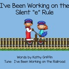 I've Been Working on My Silent e Rule for the Smart Board or IWB