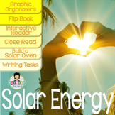 Solar Energy Activity Pack ~Read, Write, Experiment~