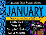 JANUARY 2015 Graphics Club {Creative Clips Digital Clipart}