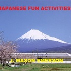 JAPANESE FUN ACTIVITIES! (COMMON CORE)