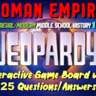 JEOPARDY! Roman Empire Jeopardy