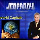 JEOPARDY! World Capitals